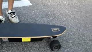 Guy Explains RC for Motorized Skateboard