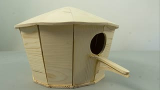 Making amazing wooden bird house
