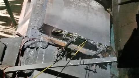 More wiresawing unionport bridge
