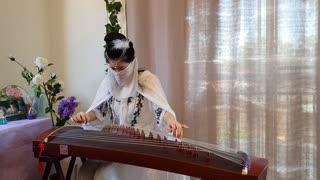 《葬花吟》#王立平谱曲#陈力演唱#古筝Guzheng Cover#纯筝版#87版《红楼梦》#Zither#Chinese Classical Music