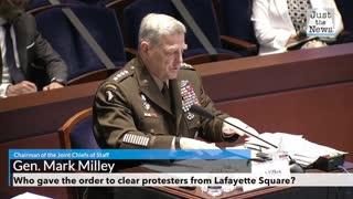 Secretary Esper and General Milley testify