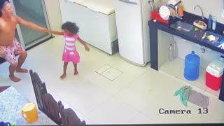 Dancing Uncle and Niece Have Amazing Moves