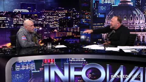 Joe Rogan and Alex Jones talk about a Joe Biden Presidency