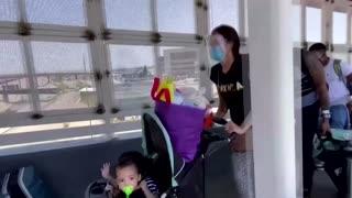 Asylum seeker celebrates family reunion in the U.S.