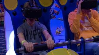 Virtual reality ride