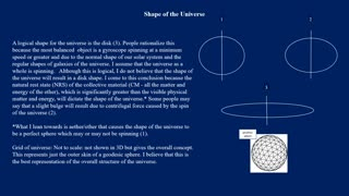 PS7 Shape of the Universe