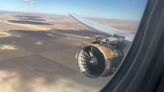 Boeing 777 returns to Denver airport after engine blew apart