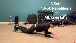 EC Fitness Core Workout Jan. 2021