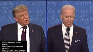 2020 Election First Presidential Debate Trump Vs Biden