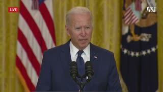 Biden Speaks on Afghanistan After ISIS Attacks in Kabul