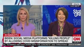 Amy Klobuchar addresses Facebook and misinformation