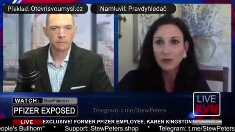 """Bývalá pracovnice Pfizeru potvrzuje, že covid """"vakcíny"""" obsahují toxickou látku!"""