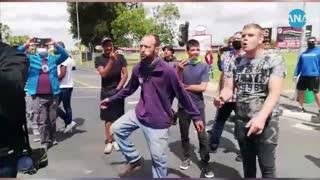 Residents, EFF members clash outside Brackenfell High School
