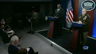 Top Defense, Military Leaders Hold News Conference