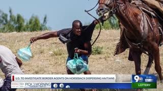 Journalist who photographed border patrol agents on horseback speaks out