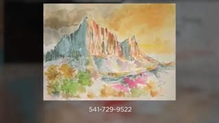 Butte To Butte Painting
