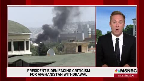 MSNBC's Jonathan Lemire TEARS INTO Biden for Failure of Afghanistan Withdrawal