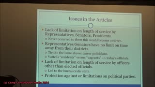 Flaws in the U.S. Constitution, with Mrs. Catherine White at Camp Constitution 2021