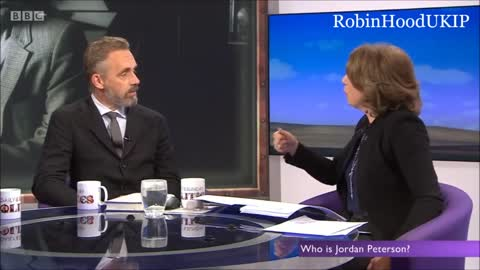 Jordan Peterson calmly dismantles feminism in front of two feminists