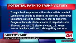 Результатом будет переизбрание Дональда Трампа