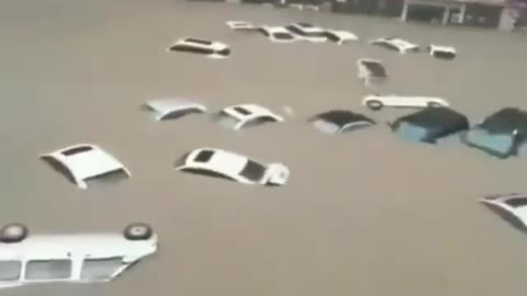 Swimming Cars In China
