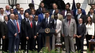 President Biden Welcomes the Tampa Bay Buccaneers to the White House 7-20-21
