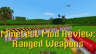 Minetest Mod Review: Ranged Weapons