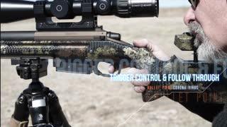 Sniper's Hide Bullet Point Video: Trigger Control & Follow Through