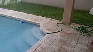 Tropical Storm Eta in West Palm Beach, Florida