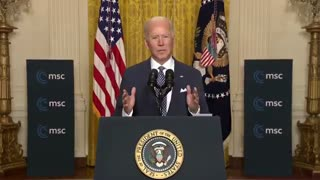Biden Actually Brags About Reversing Trump's Policy of Putting America First