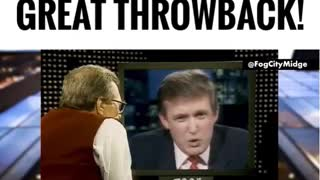 Throwback - Trump Interview with Larry King