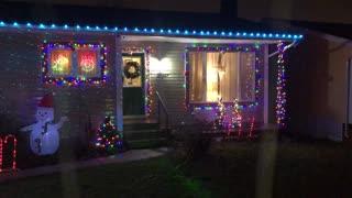 Beautiful Christmas lights.