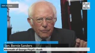 Sanders on Aftermath of George Floyd's death