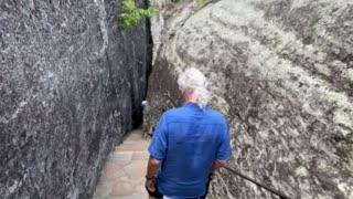 Through cave