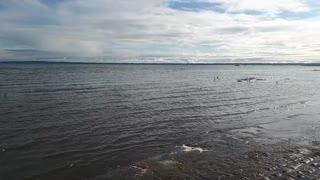 Beautiful lake gull lake Alberta