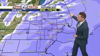 Metro Detroit Forecast: Winter Weather Advisories today