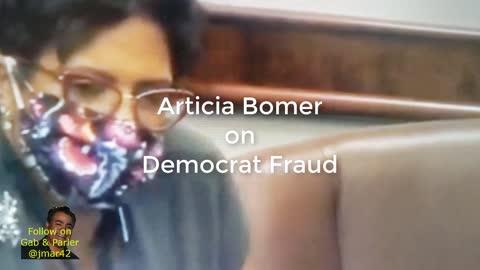 Articia Bomer MOAB's Crooked Democats in Michigan