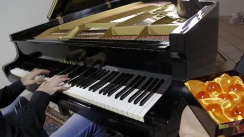 Dragon Ball Z - What's My Destiny (Piano Cover)
