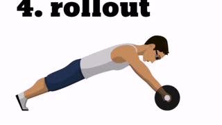 tighten abdominal muscles