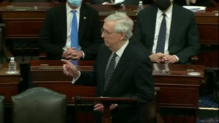 FULL SPEECH: Mitch McConnell Goes Against Trump From Senate Floor