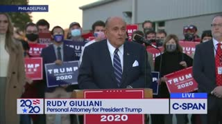 Rudy Giuliani Drops Legal BOMB On Democrats' Plans for Pennsylvania