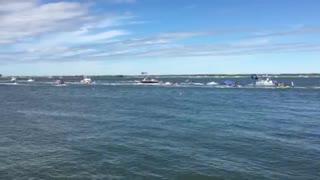 Wildwood NJ Trump Boat Parade
