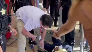 NV Lt. Governor Candidate Assaulted by Police and Dragged from Clark County Commissioner's Meeting