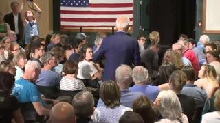 Joe Biden Tells False War Story While Campaigning