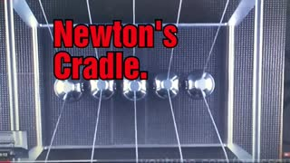 Magnetic Newtons Cradle