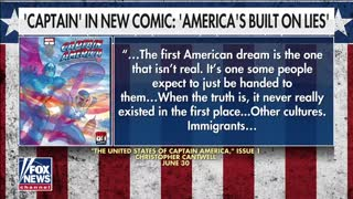 Superman Blasts Captain America over Woke Statement