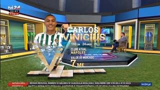 Luis Vilar sobre Carlos Vinicius