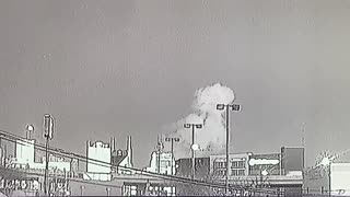 Nashville Explosion Caught on Tape (Second Angle)