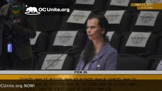 Vaccine Passports in Orange County California Speaker 21