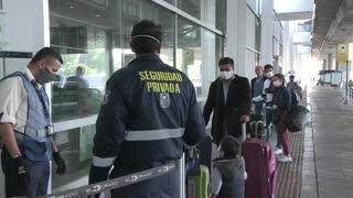 Españoles atrapados en Colombia vuelan a Madrid